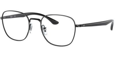 Dioptrické brýle Ray-Ban® model 6477, barva obruby černá lesk, stranice černá lesk, kód barevné varianty 2509.