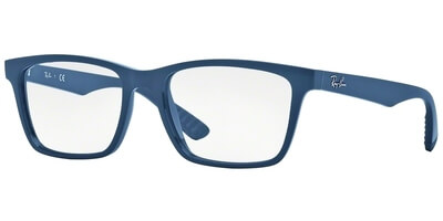 Dioptrické brýle Ray-Ban® model 7025, barva obruby modrá lesk, stranice modrá lesk, kód barevné varianty 5419.