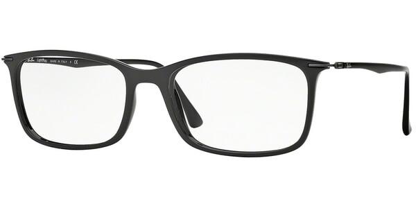 Dioptrické brýle Ray-Ban® model 7031, barva obruby černá lesk, stranice černá lesk, kód barevné varianty 2000.