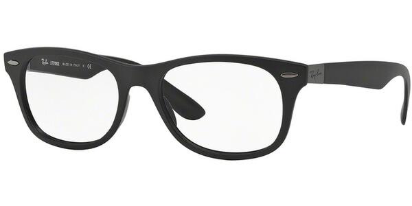 Dioptrické brýle Ray-Ban® model 7032, barva obruby černá mat, stranice černá mat, kód barevné varianty 5204.