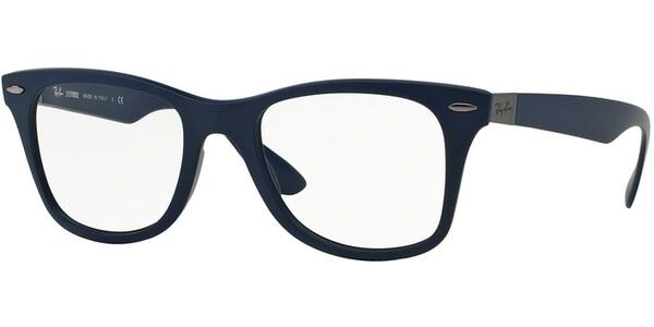 Dioptrické brýle Ray-Ban® model 7034, barva obruby modrá mat, stranice modrá mat, kód barevné varianty 5439.