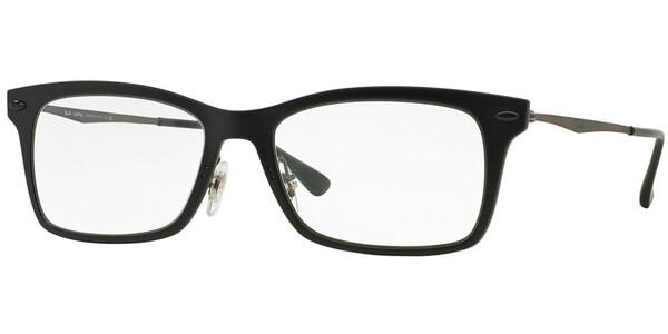 Dioptrické brýle Ray-Ban® model 7039, barva obruby černá mat, stranice stříbrná mat, kód barevné varianty 2077.