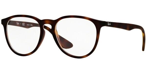 Dioptrické brýle Ray-Ban® model 7046, barva obruby hnědá mat, stranice hnědá mat, kód barevné varianty 5365.