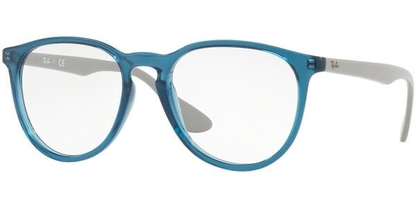 Dioptrické brýle Ray-Ban® model 7046, barva obruby tyrkysová lesk, stranice šedá lesk, kód barevné varianty 5732.