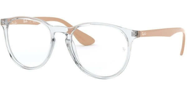 Dioptrické brýle Ray-Ban® model 7046, barva obruby čirá lesk, stranice béžová lesk, kód barevné varianty 5953.