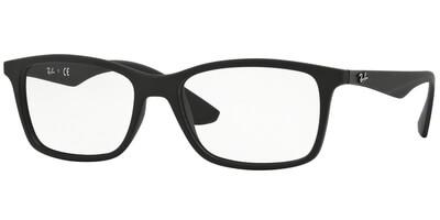 Dioptrické brýle Ray-Ban® model 7047, barva obruby černá mat, stranice černá mat, kód barevné varianty 5196.