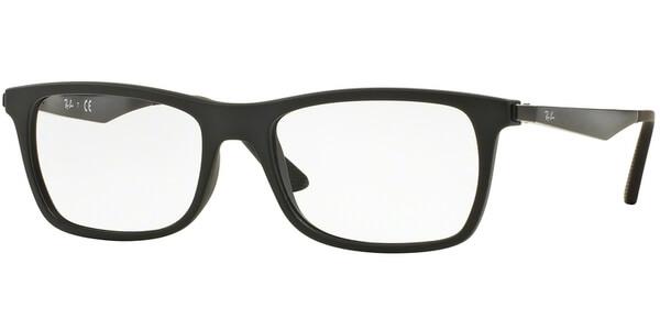 Dioptrické brýle Ray-Ban® model 7062, barva obruby černá mat, stranice černá mat, kód barevné varianty 2077.