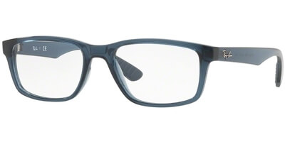 Dioptrické brýle Ray-Ban® model 7063, barva obruby modrá lesk, stranice modrá lesk, kód barevné varianty 5719.