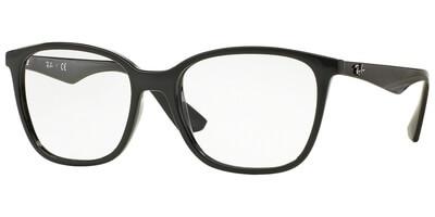Dioptrické brýle Ray-Ban® model 7066, barva obruby černá lesk, kód barevné varianty 2000.
