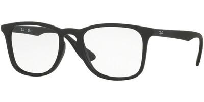 Dioptrické brýle Ray-Ban® model 7074, barva obruby černá mat, stranice černá mat, kód barevné varianty 5364.