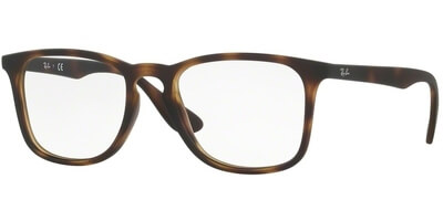 Dioptrické brýle Ray-Ban® model 7074, barva obruby hnědá mat, stranice hnědá mat, kód barevné varianty 5365.