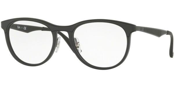 Dioptrické brýle Ray-Ban® model 7116, barva obruby černá mat, stranice černá mat, kód barevné varianty 5196.