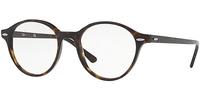 Dioptrické brýle Ray-Ban® model 7118, barva obruby hnědá lesk, stranice hnědá lesk, kód barevné varianty 2012.