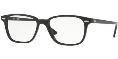 Dioptrické brýle Ray-Ban® model 7119, barva obruby černá lesk, stranice černá lesk, kód barevné varianty 2000.