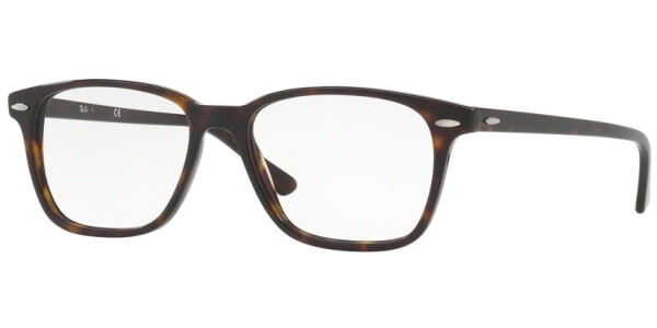 Dioptrické brýle Ray-Ban® model 7119, barva obruby hnědá lesk, stranice hnědá lesk, kód barevné varianty 2012.