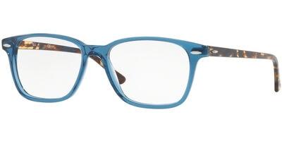 Dioptrické brýle Ray-Ban® model 7119, barva obruby modrá lesk, stranice hnědá lesk, kód barevné varianty 8024.