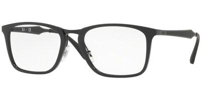 Dioptrické brýle Ray-Ban® model 7131, barva obruby černá lesk, stranice černá mat, kód barevné varianty 2000.