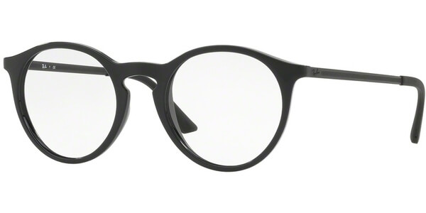 Dioptrické brýle Ray-Ban® model 7132, barva obruby černá lesk, stranice černá mat, kód barevné varianty 2000.
