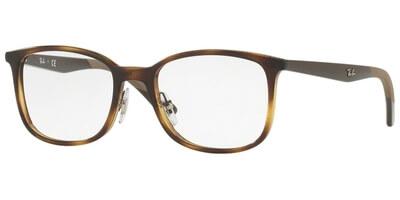Dioptrické brýle Ray-Ban® model 7142, barva obruby hnědá lesk, stranice hnědá lesk, kód barevné varianty 2012.