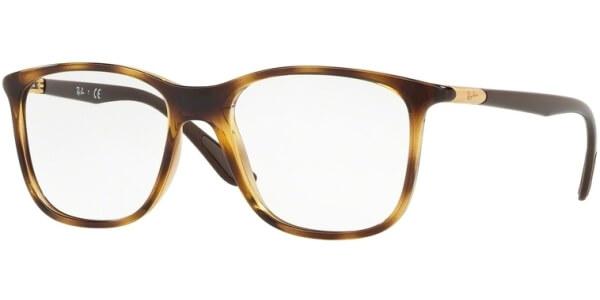 Dioptrické brýle Ray-Ban® model 7143, barva obruby hnědá lesk, stranice hnědá lesk, kód barevné varianty 2012.