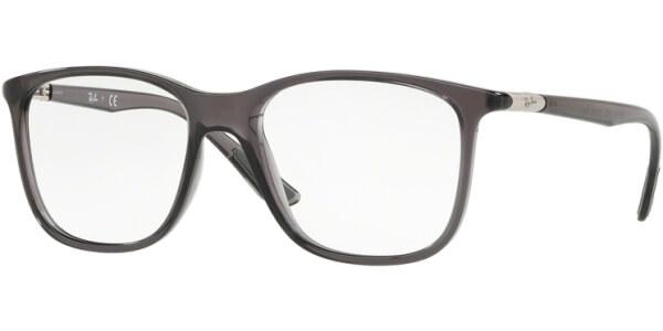 Dioptrické brýle Ray-Ban® model 7143, barva obruby čirá šedá lesk, stranice čirá šedá lesk, kód barevné varianty 5620.