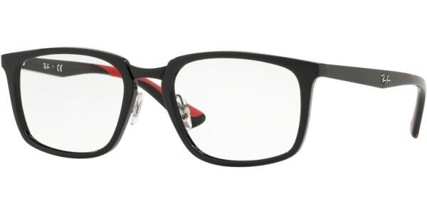 Dioptrické brýle Ray-Ban® model 7148, barva obruby černá lesk, stranice černá lesk, kód barevné varianty 5795.