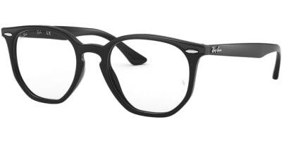 Dioptrické brýle Ray-Ban® model 7151, barva obruby černá lesk, stranice černá lesk, kód barevné varianty 2000.