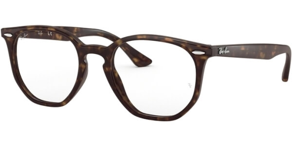 Dioptrické brýle Ray-Ban® model 7151, barva obruby hnědá lesk, stranice hnědá lesk, kód barevné varianty 2012.