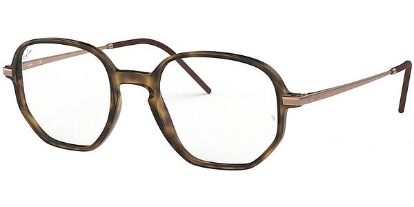 Dioptrické brýle Ray-Ban® model 7152, barva obruby hnědá mat, stranice bronzová mat, kód barevné varianty 5365.