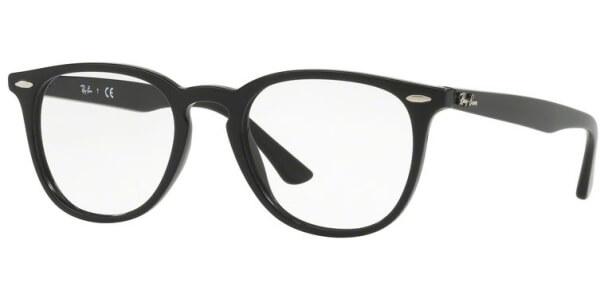 Dioptrické brýle Ray-Ban® model 7159, barva obruby černá lesk, stranice černá lesk, kód barevné varianty 2000.