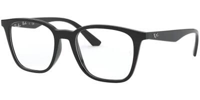 Dioptrické brýle Ray-Ban® model 7177, barva obruby černá lesk, stranice černá lesk, kód barevné varianty 2000.