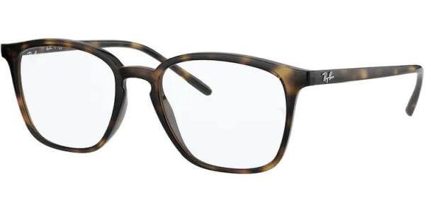 Dioptrické brýle Ray-Ban® model 7185, barva obruby hnědá lesk, stranice hnědá lesk, kód barevné varianty 2012.