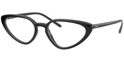 Dioptrické brýle Ray-Ban® model 7188, barva obruby černá lesk, stranice černá lesk, kód barevné varianty 2000.