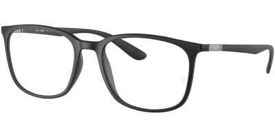 Dioptrické brýle Ray-Ban® model 7199, barva obruby černá mat, stranice černá mat, kód barevné varianty 5204.
