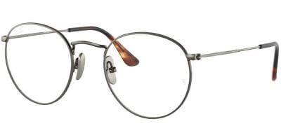 Dioptrické brýle Ray-Ban® model 8247V, barva obruby šedá lesk, stranice šedá lesk, kód barevné varianty 1223.
