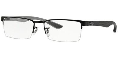 Dioptrické brýle Ray-Ban® model 8412, barva obruby černá mat, stranice šedá mat, kód barevné varianty 2503.
