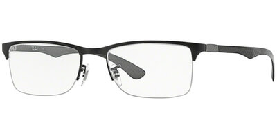 Dioptrické brýle Ray-Ban® model 8413, barva obruby černá mat, stranice šedá mat, kód barevné varianty 2503.
