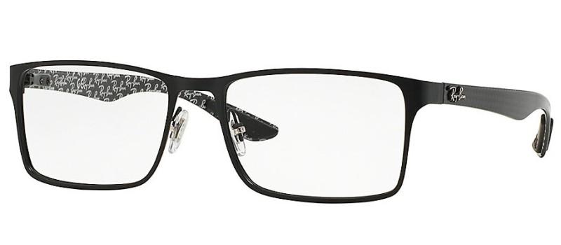 Dioptrické brýle Ray-Ban® model 8415, barva obruby černá mat, stranice černá mat, kód barevné varianty 2848.