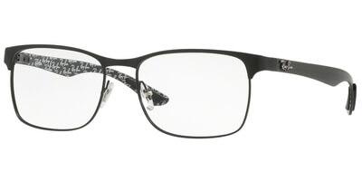 Dioptrické brýle Ray-Ban® model 8416, barva obruby černá mat, stranice šedá mat, kód barevné varianty 2503.