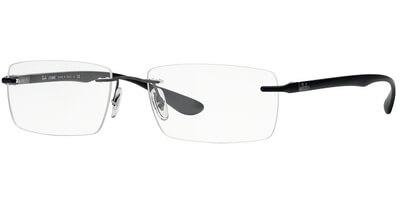 Dioptrické brýle Ray-Ban® model 8724, barva obruby šedá mat, stranice černá mat, kód barevné varianty 1128.