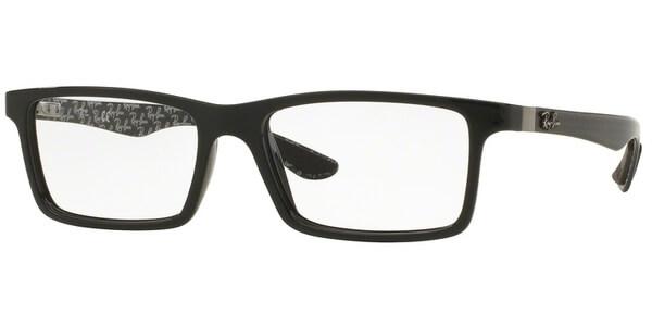 Dioptrické brýle Ray-Ban® model 8901, barva obruby černá Top Black On Shiny Grey lesk, stranice čedá mat, kód barevné varianty 5610.