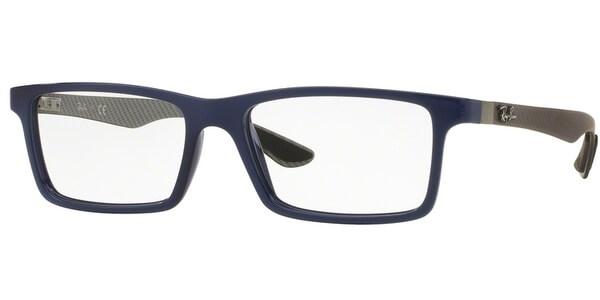Dioptrické brýle Ray-Ban® model 8901, barva obruby modrá lesk, stranice šedá mat, kód barevné varianty 5611.