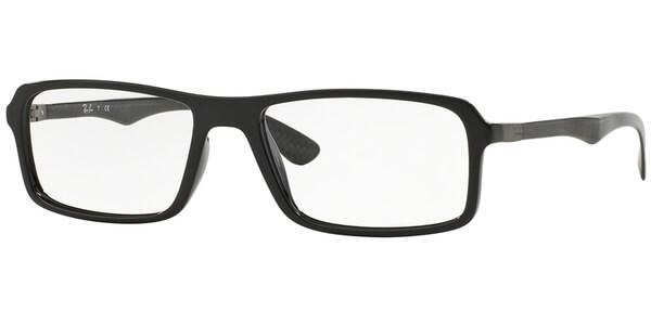 Dioptrické brýle Ray-Ban® model 8902, barva obruby černá lesk, stranice černá mat, kód barevné varianty 2000.