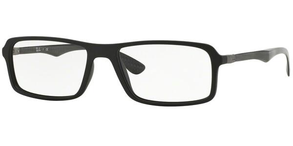 Dioptrické brýle Ray-Ban® model 8902, barva obruby černá mat, stranice černá mat, kód barevné varianty 5196.