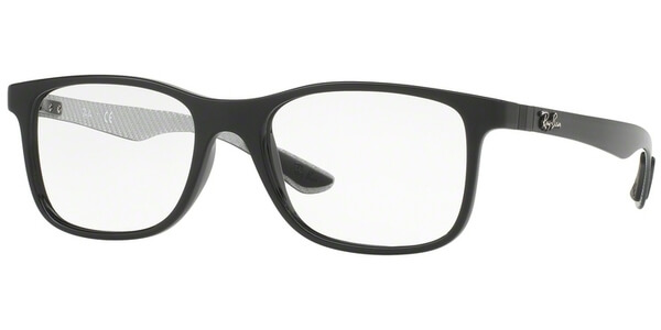 Dioptrické brýle Ray-Ban® model 8903, barva obruby černá lesk, stranice šedá mat, kód barevné varianty 5681.
