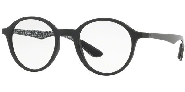 Dioptrické brýle Ray-Ban® model 8904, barva obruby černá mat, stranice šedá mat, kód barevné varianty 5263.