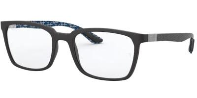 Dioptrické brýle Ray-Ban® model 8906, barva obruby černá mat, stranice černá mat, kód barevné varianty 5196.