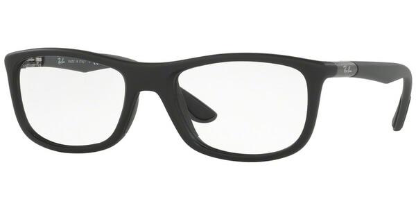 Dioptrické brýle Ray-Ban® model 8951, barva obruby černá mat, stranice černá mat, kód barevné varianty 5605.