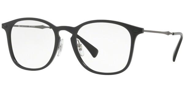 Dioptrické brýle Ray-Ban® model 8954, barva obruby černá mat, stranice šedá mat, kód barevné varianty 8025.