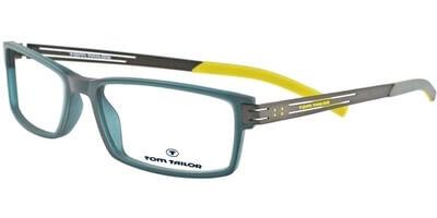 Dioptrické brýle Tom Tailor model 60245, barva obruby modrá mat, stranice stříbrná šedá mat, kód barevné varianty 661.